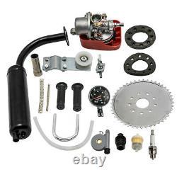 100cc 26 28 Bicycle Engine Kit 2-Stroke Gas Motorized Motor Bike Modified Set