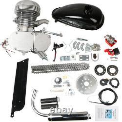 100cc Bicycle Motor Kit Push Bike Motorized 2 Stroke Petrol Gas Engine Full Set