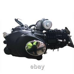 125cc 4 Stroke Electric Start Semi Auto Engine Motor fit ATV Go Kart Mini Bike