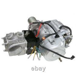 125cc Engine Motor Parts Semi Auto 4 Stroke Reverse ATV Quad Bike Buggy Go Kart