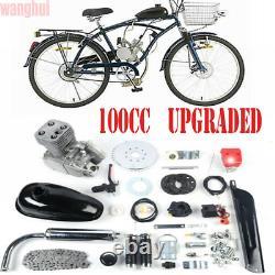 2-Stroke 100cc Bicycle Engine Kit Gas Motorized Motor Bike Modified Full Set US