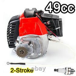 2-Stroke 49CC Mini Bike Scooter Electric Start Engine Motor Pocket Goped Buggy