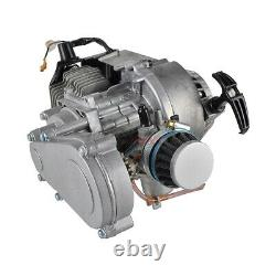 2-Stroke 49CC Mini Complete Engine Motor With Gear Box For ATV Dirt Bike Scooter