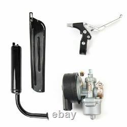 2 Stroke 80cc Bike Cycling Bicycle Motorized Engine Motor Kit Muffler Petrol Gas