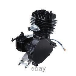 2-Stroke 80cc Bike Cycling Motorized Bicycle Engine Motor Kit Exhaust Muffler
