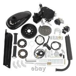 2 Stroke 80cc Petrol Gas Bike Engine Motor Kit Set Motorized Bicycle pipe NEW