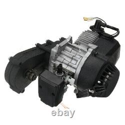 2 Stroke Engine 47cc 49cc Mini Moto Quad Bike Pull Start Starter with Transfer US