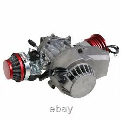 2 Stroke HP Racing Engine Motor 49/50cc Pocket Rocket Quad/Dirt Bike Pull start