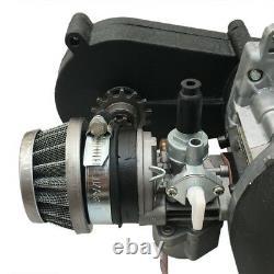 2 Stroke Racing Engine Motor 47cc 49 50cc Pocket Rocket Dirt Bike Pull Start US