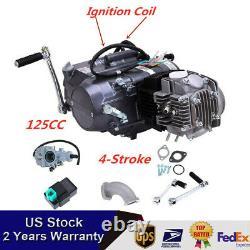 4 Stroke 125CC Motorcycle Motor Engine Pit Dirt Bike ATV Quad Fit Honda CRF50 US