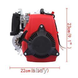 4-Stroke 49CC Gas Petrol Motorized Bicycle Bike Engine Motor Kit Fits 26OR 28