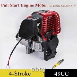4-Stroke 49cc Gas ATV Motor Motorized Petrol Bike Bicycle DIY Scooter Engine US