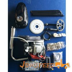 4-Stroke 49cc Gas Petrol Motorized Bike Bicycle Engine Motor Kit Scooter New