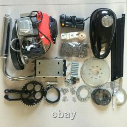 4-Stroke Bicycle DIY Motorized 49CC Gas Petrol Bike Engine Motor Kit RED
