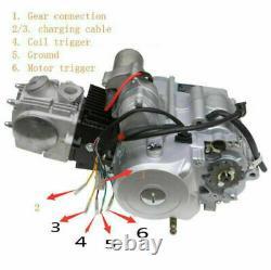 4-stroke 125cc Semi Auto Engine Motor Reverse Kit For ATV Quad Bike Buggy ATC70
