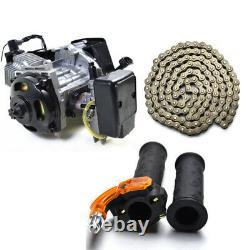 47cc 49cc 50cc 2 Stroke Engine Motor Chain for POCKET BIKE Mini pit Scooter ATV