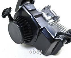49CC 2-STROKE ENGINE MOTOR with Carburetor Chain Grips POCKET MINI DIRT BIKE ATV