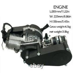 49CC 2 Stroke Pull Start Engine Motor Mini Pocket PIT Quad Dirt Bike ATV Scooter