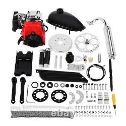 49CC 4-Stroke Bicycle Motorized Gas Petrol Bike Engine Motor Kit Chain Scooter