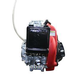 49CC 4-Stroke OHV 142F Gas Petrol Motorized Bike Engine MOTOR Kit BELT Drive UPS