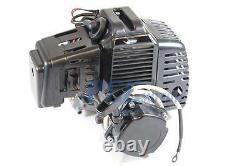 49CC COMPLETE BLACK ENGINE 2 STROKE with Pull Start SUPER BIKE ELE M EN04