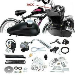 49cc 50CC Bike 2 Stroke Gas Engine Motor Kit DIY For Motorized Bicycle Set