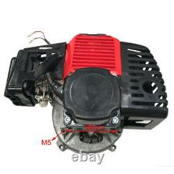 49cc 50cc ENGINE Kit 2 STROKE Motor POCKET BIKE GAS SCOOTER PULL START Gas Tank