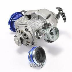 49cc 52cc Big Bore Pocket Bike Engine 2 Stroke Motor Razor scooter Mini Chopper