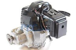 49cc Complete Black Engine 2 Stroke Super Pocket Bike Electric Pull Start En04