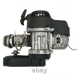 50cc 49cc 2 Stroke Pull Start Engine Motor Mini Pocket Dirt Bike ATV Quad Buggy