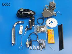 50cc Motorized Bicycle Bike 2 Stroke Gas Fuel Motor Engine Kit Complete Cycle