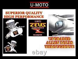 66CC/80CC 2-STROKE MOTORIZED BIKE ENGINE KIT WITH 26 MT BIKE diy complete