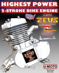 66cc 80cc 2-STROKE MOTORIZED BIKE ENGINE ONLY FOR MOTORIZED BIKE KITS