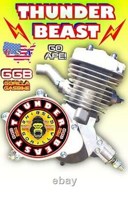 66cc/80cc 2-Stroke Motorized Bike Engine Only For Motorized Bicycle Kit POWERFUL