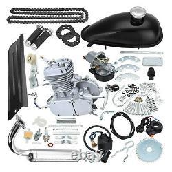 80cc 2-Stroke Cycle Bike Complete Engine Motor Petrol Gas Kit Motorized Bicycle