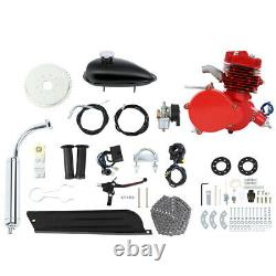 80cc 2-Stroke Cycle Bike Engine Motor Petrol Gas Kit for Motorized Bicycle DIY