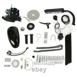 80cc 2-Stroke Gas Motor Engine Kit DIY for Motorized Bicycle Bike Silver On Sale
