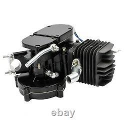 80cc 2-Stroke High Power Engine Bike Motor Kit Bicycle Motor Motorized Silver US
