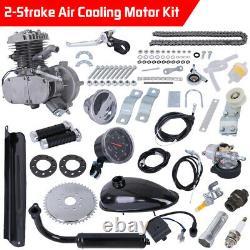 80cc 2-Stroke Motor Engine Kit Gas For Motorized Bicycle Bike Cycle DIY SET