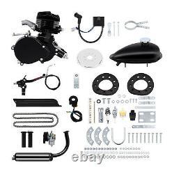 80cc 2 Stroke Motor Engine Kit Gas for Motorized Bicycle Bike Black Upgraded
