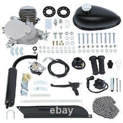 80cc 2 Stroke Petrol Gas Motor Engine Kit for Fits Motorised Bicycle Push Bike