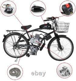 80cc Bicycle Electric Start Motorized 2 Stroke Petrol Gas Motor Engine Bike Kit