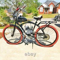 Anbull 80CC 26 28 Bicycle Engine Kit Bike Motorized 2 Stroke Petrol Gas Motor