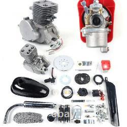 Bicycle Motorized 100CC 2-Stroke Gas Petrol Bike Engine Motor Kit Full Set US