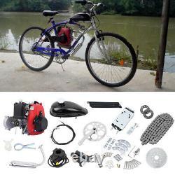 Bike Engine Motor Kit 4-Stroke 49CC Gas Petrol Motorized Bicycle Scooter Belt