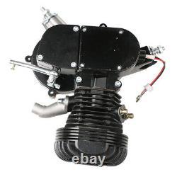 Black 2-Stroke100cc Bicycle Motor Kit Bike Motorized Petrol Gas Engine Set