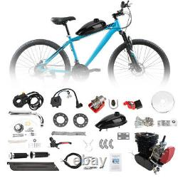 Black 2-Stroke110cc Bicycle Motor Kit Bike Motorized Petrol Gas Engine Set