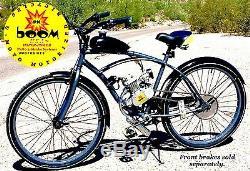 DIY 2-STROKE 66CC/80CC MOTORIZED BIKE ENGINE KIT With 26 BIKE