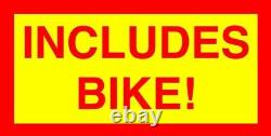 Diy 2-stroke 66cc/80cc Motorized Bike Engine Kit With 26 Beach Cruiser Bike