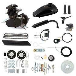 For 80cc Bicycle Motor Kit Bike Motorized 2 Stroke Petrol Gas Engine Full Set US